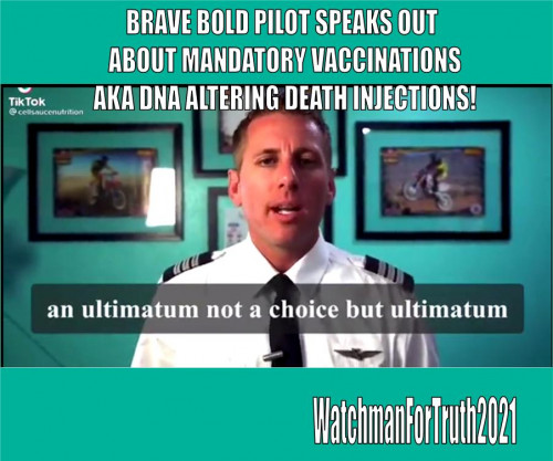 Airline Pilot Shawn Walker Speaks Out Against Vaccine Mandate: 'Choice is More Important Than My Career'