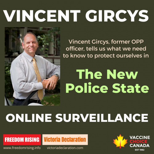 Vincent Gircys - ONLINE SURVEILLANCE in The New Police State