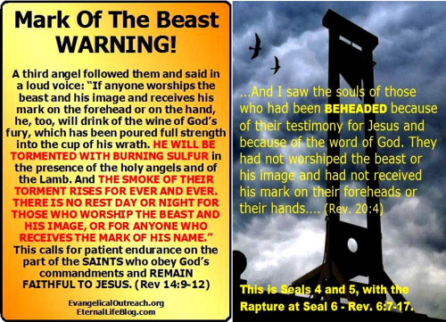 MUST SEE! 100% PROOF THAT THE 666 MARK OF THE BEAST IS ABOUT TO BE UNLEASHED...