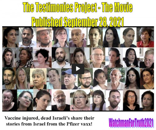The Testimonies Project - The Movie - Testimonies after covid-19 vaccinations