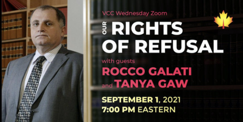 Our Rights of Refusal with Rocco Galati, Tanya Gaw & Other Guests
