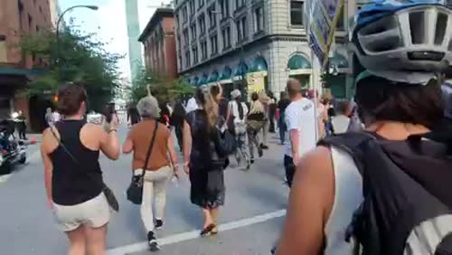 World Wide Walkout - Vancouver, B.C. - September 1, 2021