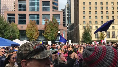 Worldwide Freedom March Vancouver Canada 9/18/2021